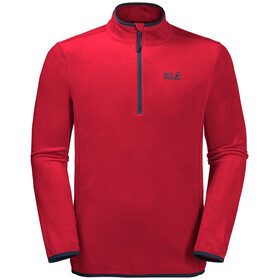 Jack Wolfskin Echo Fleece Trui Heren, red lacquer